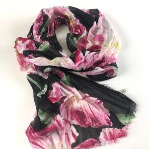 American Eagle Hibiscus Floral Scarf